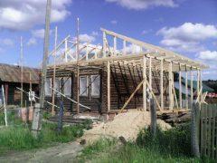 IMG 20140618 171253 240x180 - Пристройка и двухскатная крыша в г. Кохма