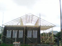 стропила двухскатной крыши г. Кохма