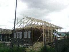 каркас крыши и веранды г. Кохма