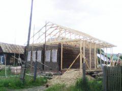 IMG 20140619 112213 240x180 - Пристройка и двухскатная крыша в г. Кохма