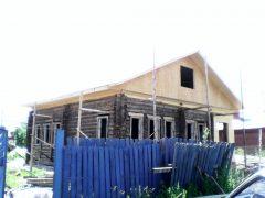 двухскатная крыша г. Кохма