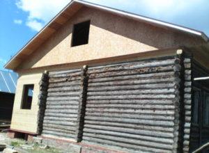 двухскатная крыша фронтон г. Кохма