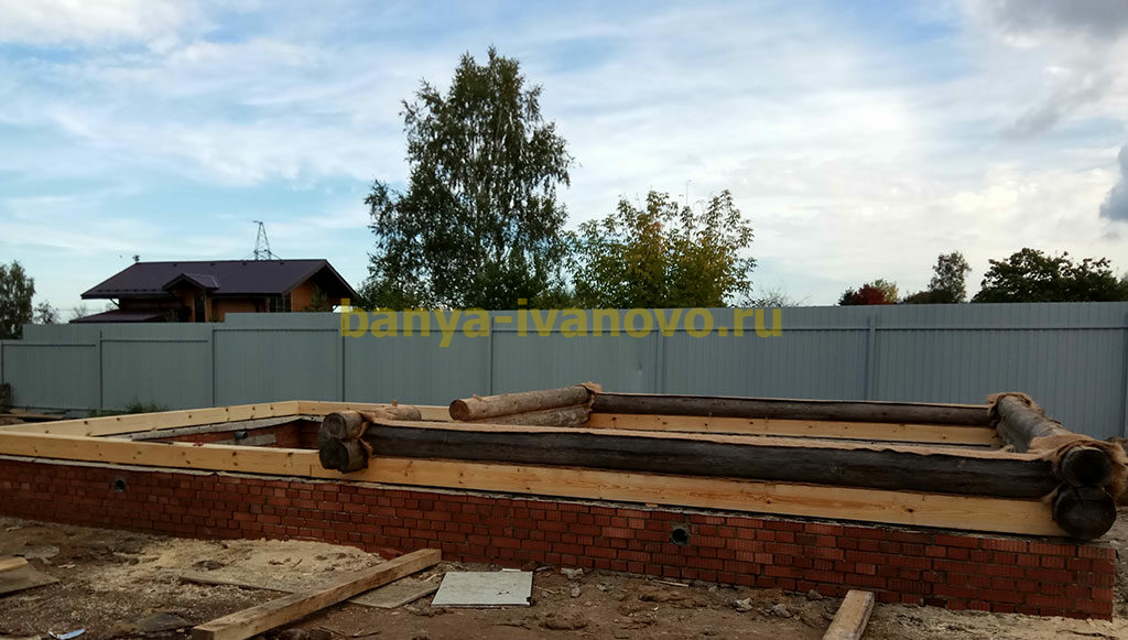 banya fundament 1024x581 - Строительство фундамента для бани в Иваново и Ивановской области