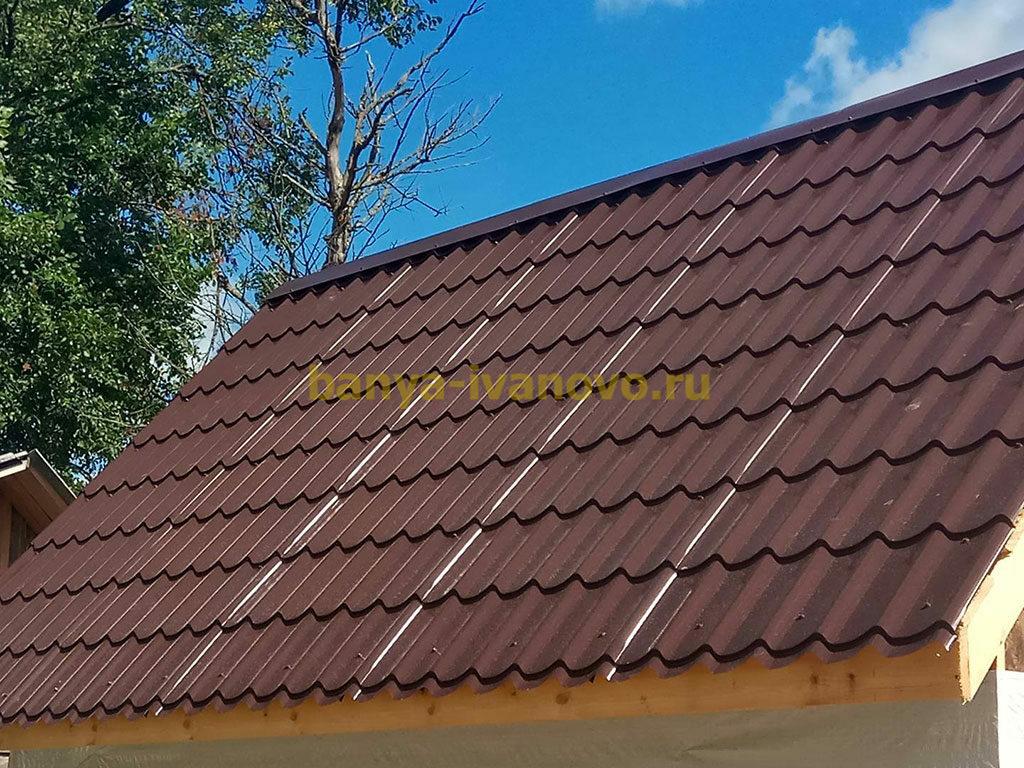 krovlya bani 1024x768 - Кровля для бани. Чем покрыть крышу бани?