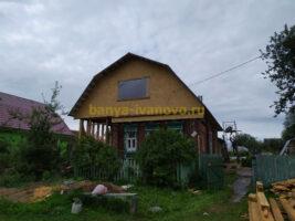 Строительство мансарды в д. Горенцово