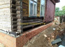 IMG 20190808 162521 250x180 - Замена фундамента и нижних венцов в м. Соснево