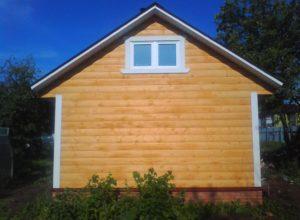 IMG 20130624 080854 300x220 - Отделка фронтона крыши. Чем зашить фронтон
