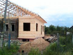 IMG 20140626 161749 240x180 - Пристройка и двухскатная крыша в г. Кохма