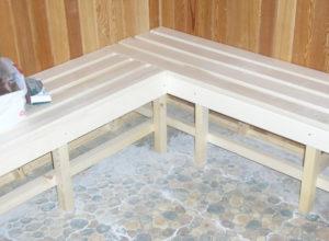 k 16 300x220 - Изготовление полога и лавок для бани.