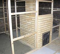 kotel 200x180 - Установка печи (котла) в бане. Обкладка печи в бане кирпичом.