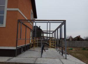 IMG 20170426 110552 300x220 - Строительство веранды и навеса под машину в д. Иванково