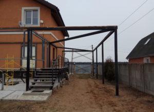 IMG 20170426 110615 300x220 - Строительство веранды и навеса под машину в д. Иванково
