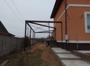 IMG 20170426 110641 300x220 - Строительство веранды и навеса под машину в д. Иванково