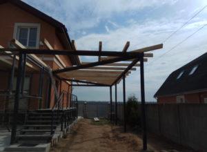 IMG 20170502 095723 300x220 - Строительство веранды и навеса под машину в д. Иванково