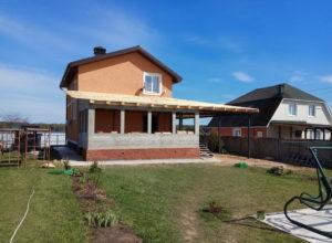 IMG 20170515 142113 300x220 - Строительство веранды и навеса под машину в д. Иванково